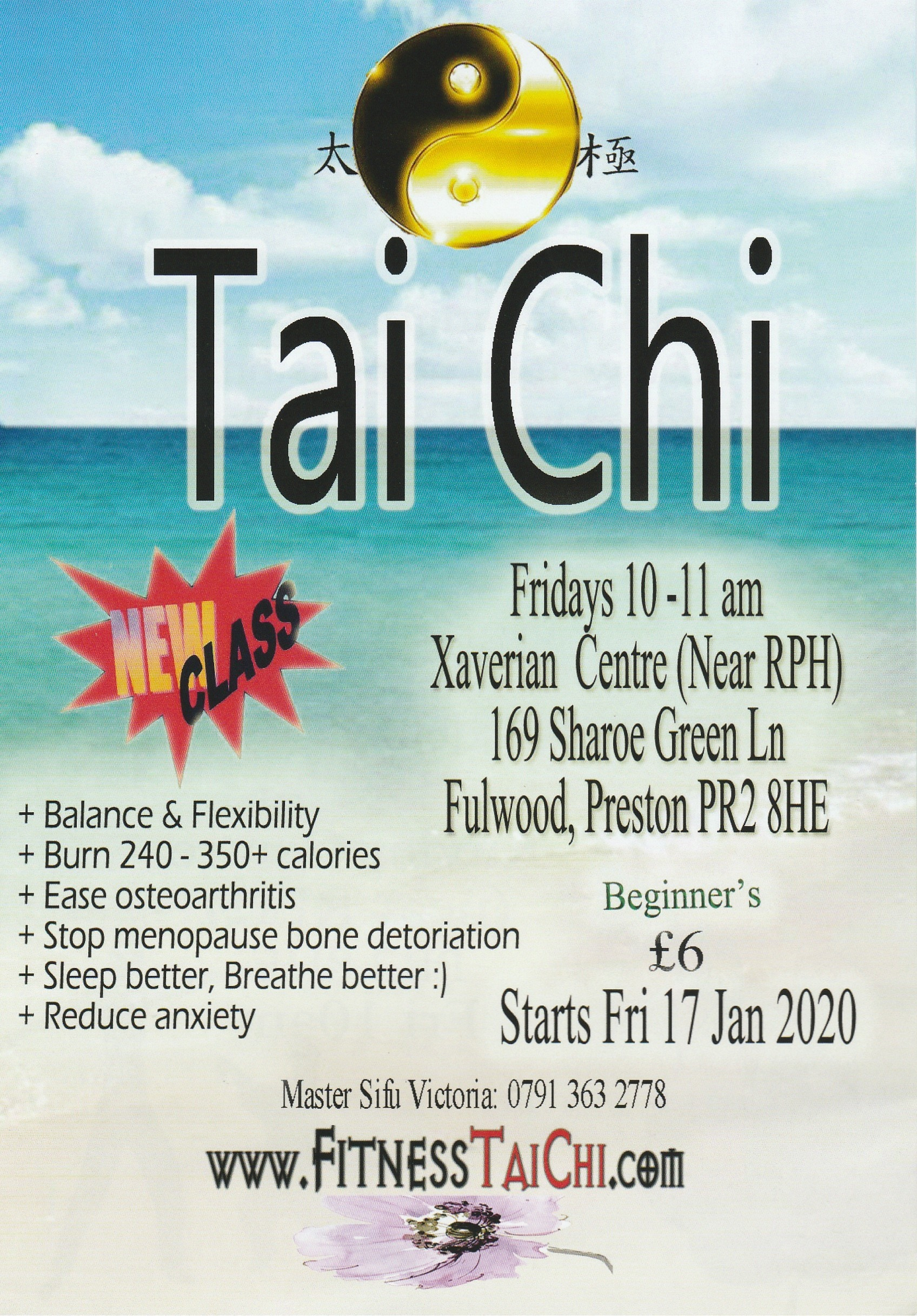 Tai Chi @ Xaverian Mission Spirituality Centre | Fulwood | England | United Kingdom